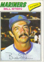 1977 Topps Baseball Cards      334     Bill Stein